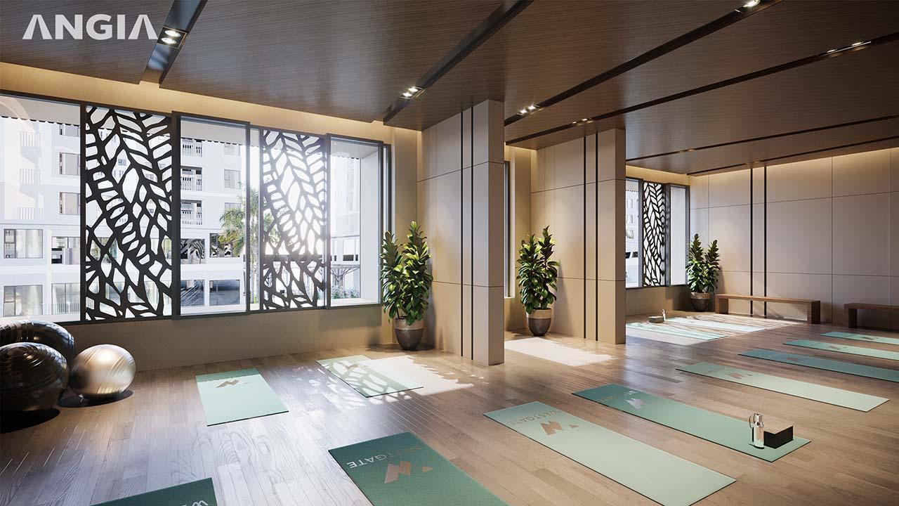Phòng Yoga cực đẹp